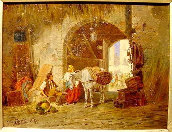 1046: 1895 Quaglio Munchen Oil