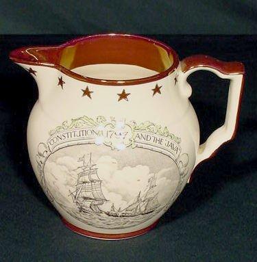 1004: Commodore Bainbridge Maritime Pitcher NR