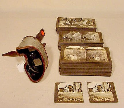 1: Stereopticon & Approx. 90 International Cards NR