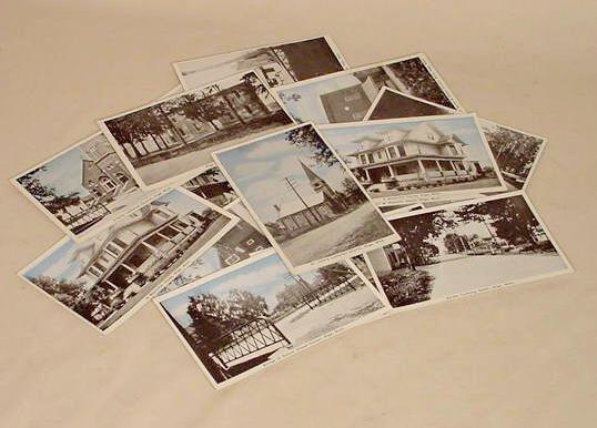 10: 19 Riga Michigan Photo Post Cards NR