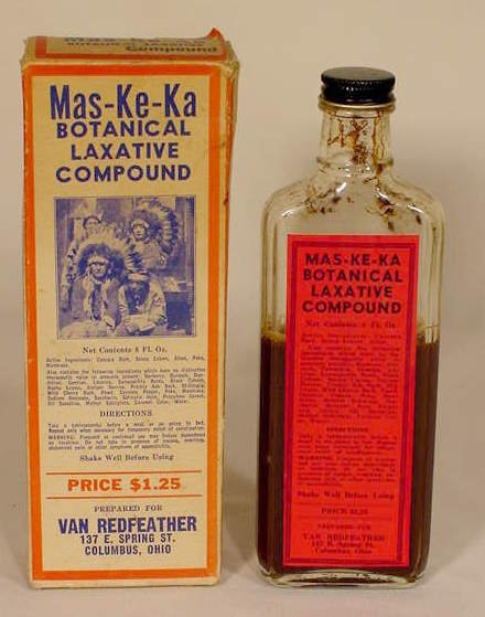 1001: Mas-ke-ka Botanical Laxative Compound NR