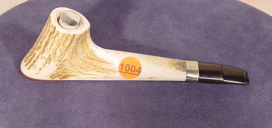 1004: Hand Crafted Horn Pipe by David Holton NR