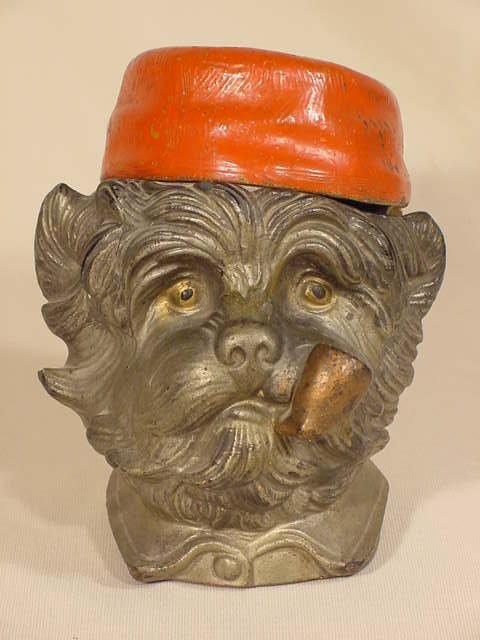 1012: Scotty Dog Whimsical Humidor NR