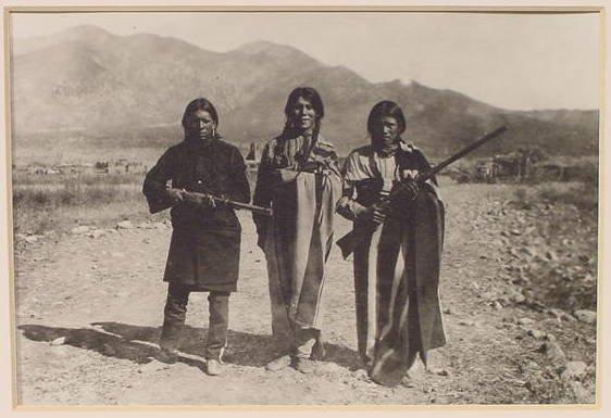 1021: B.C. Randall Silver Photograph Native Americans
