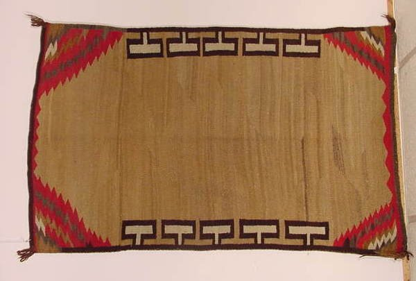 1212: South Western Native American Woven Rug NR