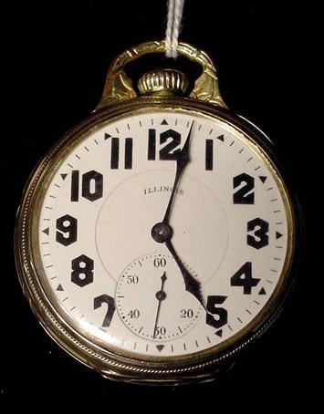 2: Illinois Sangamo Special 23J Pocket Watch NR