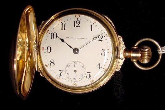 7: Illinois 17J 18S LS Pocket Watch NR