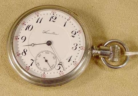 8: Hamilton 975 17J 16S LS Pocket Watch NR