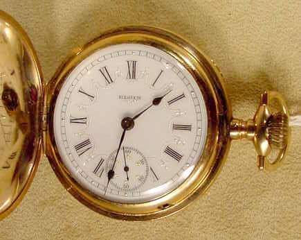 10: Elgin G.M. Wheeler 17J LS Pocket Watch NR