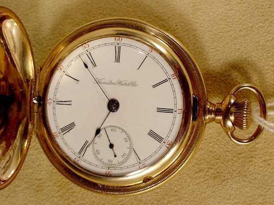 11: Hamilton 925 17J 18S LS Pocket Watch NR