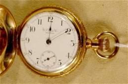 50: U.S. Watch Co. Waltham, Mass.18S Pocket Watch NR