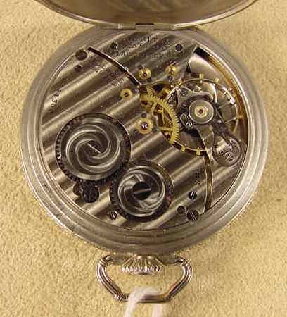 137: Hamilton 912 7J 12S Pocket Watch NR - 4