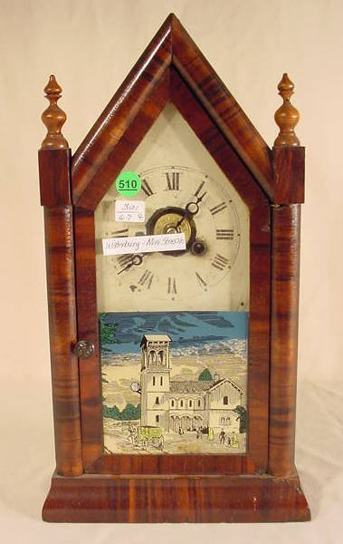510: Waterbury Mini Steeple Clock NR