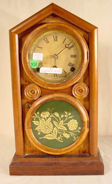 512: Ingraham Ionic Shelf Clock NR
