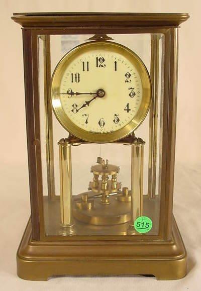 515: Gustav Becker Crystal Regulator Torsion Pendulum