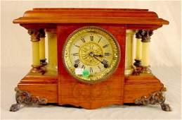 Seth Thomas Adamantine Shelf Clock NR
