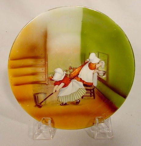 2016: Royal Bayreuth Plate with Sunbonnet Babies NR