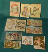 2182 11 Medicine Related Advertising  Trade Cards NR