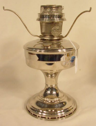 11: Aladdin Model 12 Nickel Lamp, Model 12 Burner NR