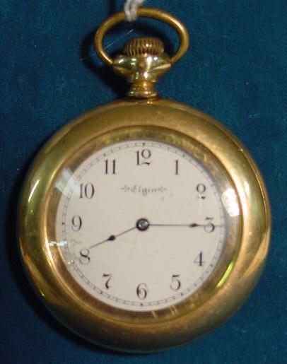 1: Elgin 6s Pocket Watch NR