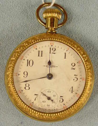 "3: Leonard 16S ""Dollar Type"" Pocket Watch NR"