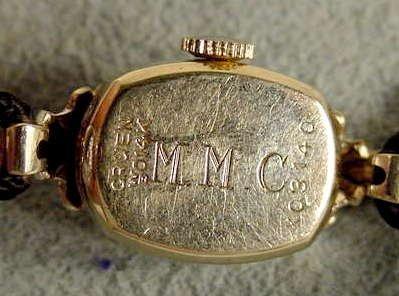 4: Ladies Gruen Precision 275 17J 14K Wrist Watch NR - 5