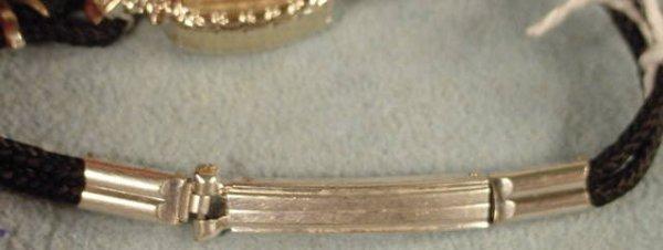 4: Ladies Gruen Precision 275 17J 14K Wrist Watch NR - 8
