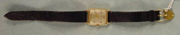 9: Lord Elgin 559 21J 14K Wrist Watch NR
