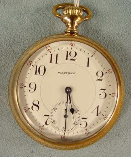 10: Waltham 845 18s 21j LS Pocket Watch Model 1892 NR