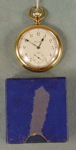 11: Hamilton 992 21J 16S DR Pocket Watch NR