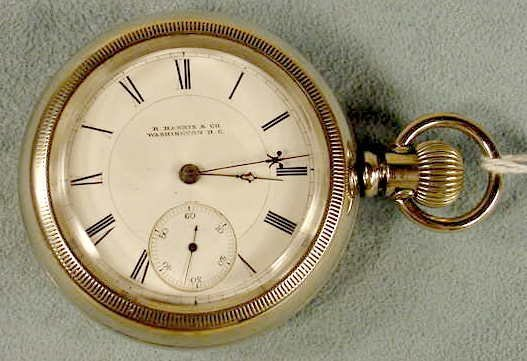 13: Columbus Transitional 18s Pocket Watch NR