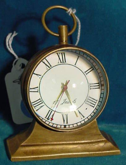 15: 17J Desk Ball Clock NR