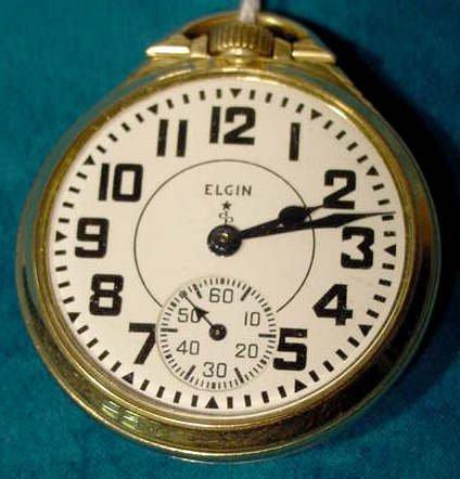 22: Elgin 571 21J 16S Pocket Watch NR