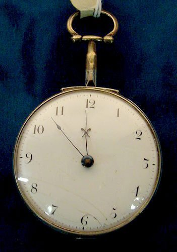 33: Chas Booth Manchester #603 Pair Case Pocket Watch