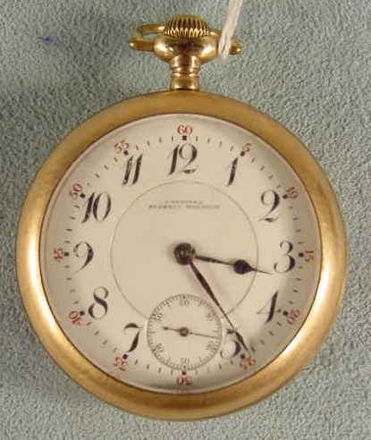 70: Longines Express Monarch 21J LS Pocket Watch NR