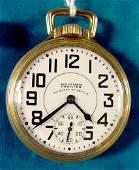 346 Waltham Premier Vanguard 23J 16s Pocket Watch