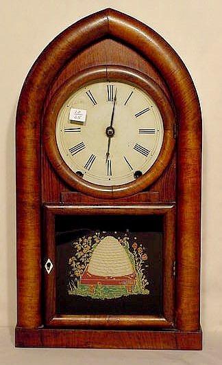 506: Brewster & Ingrahams Beehive Clock in Rosewood NR