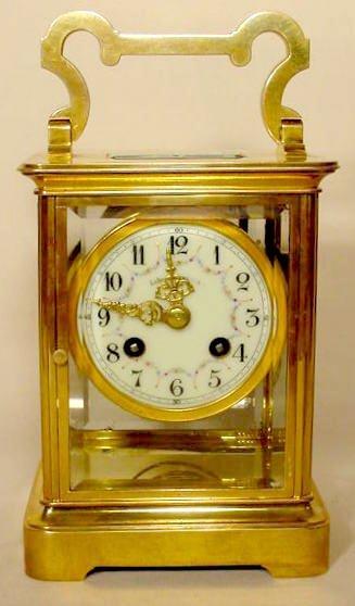 510: Lenzkirch Crystal Regulator Clock NR
