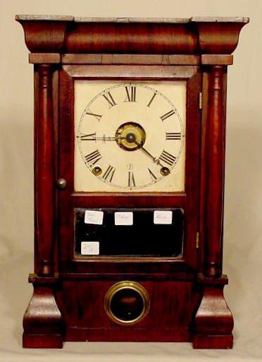 515: Seth Thomas Bulls Eye Clock in Rosewood NR