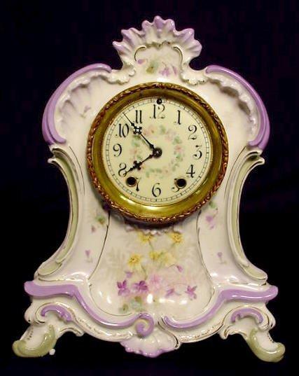 518: Waterbury China Clock NR