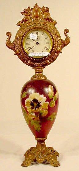 523: Gilbert Model #1153 Bristol Vase Clock NR