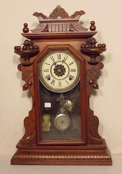 """537: Waterbury """"The Hougt"""" Clock in Walnut NR"""