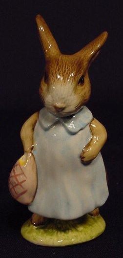 1006: Four Beatrix Potter Peter Rabbit Figurines NR - 4