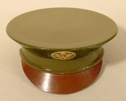 1011: Military Hat Shaped Compact NR