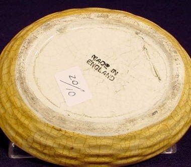 1013: Multicolored Ceramic Chicken on Nest NR - 3