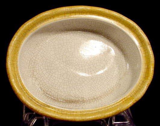 1013: Multicolored Ceramic Chicken on Nest NR - 4