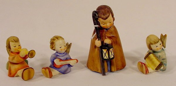 1017: Group of Four Goebel Hummel Figurines NR