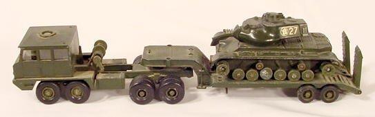 1504: Solido Cast Aluminum Berliet Tractor NR