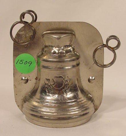 1509: Aluminum Chocolate Bell Mold NR