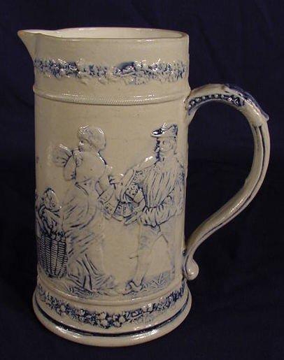 1519: Flemish Style Stoneware Pitcher NR